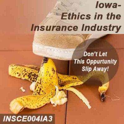 Iowa - Ethics in the Insurance Industry (CE)